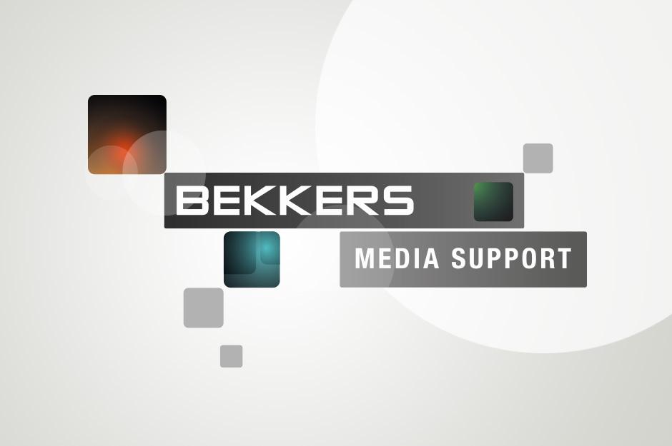 Logo ontwerp - Bekkers media support