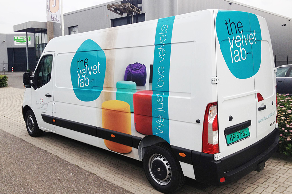 The Velvet Lab bus